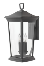 """Hinkley Lighting Hinkley Lighting Bromley 3 Light 19"""" Tall Outdoor Wall Sconce with LED Bulbs Included"""