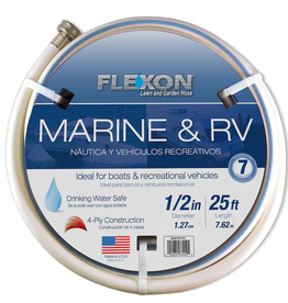 US WIRE AND CABL CORP DBA FLEXON 25' RV/MARINE HOSE