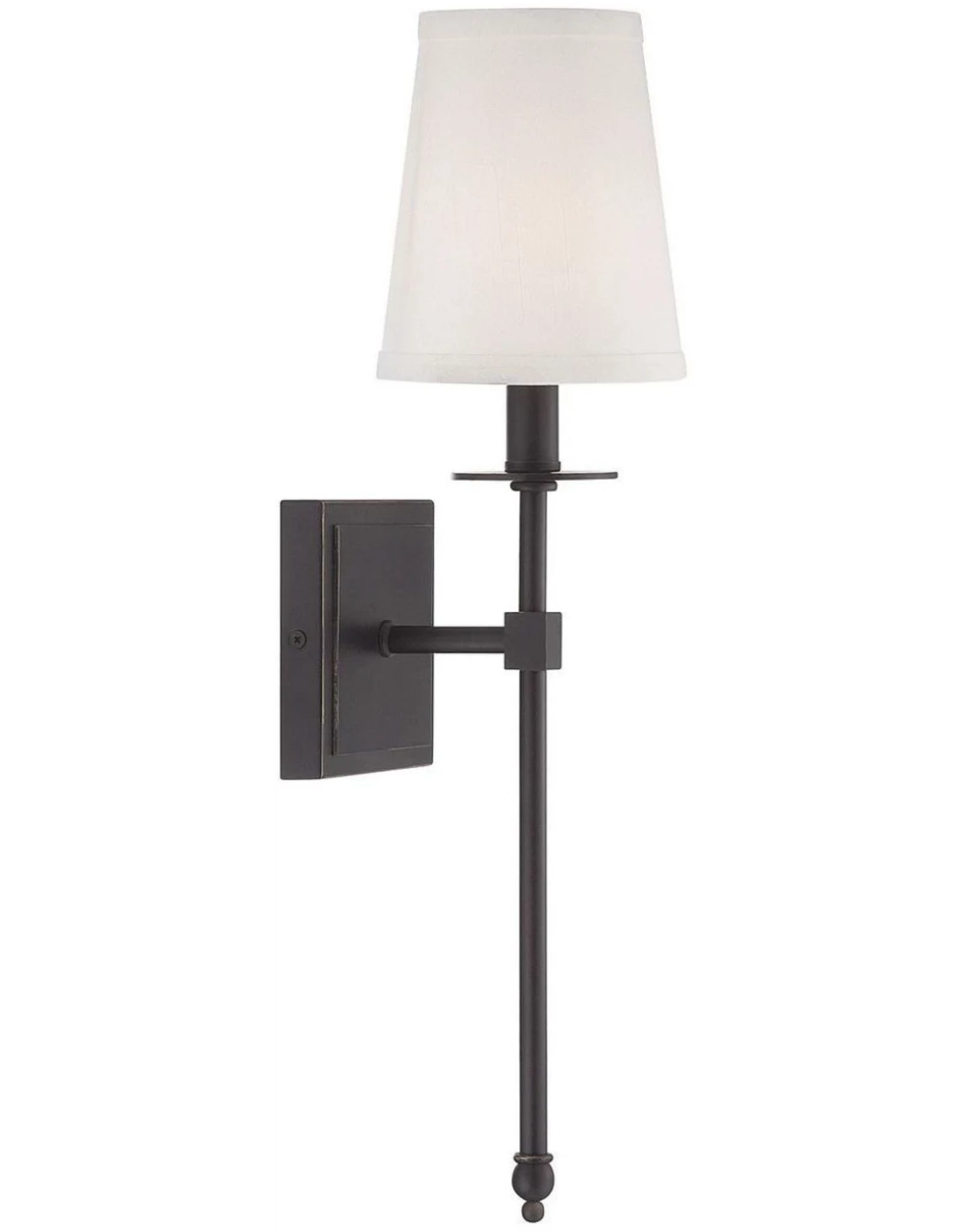 "Savoy House Savoy House Monroe 1 Light 20"" Tall Wall Sconce"