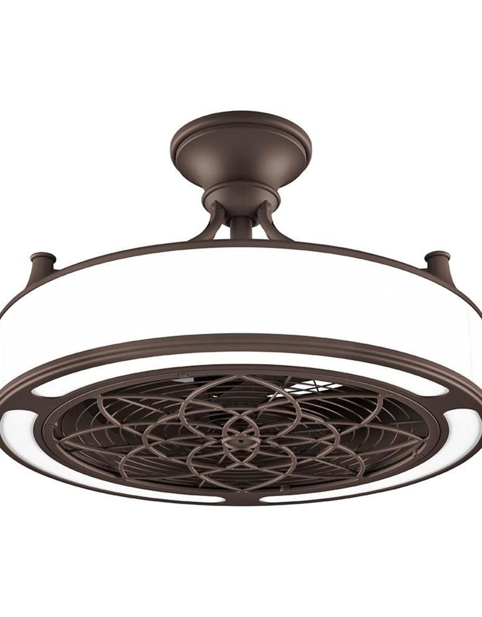 Anderson 22 in. Indoor/Outdoor Bronze ceiling fan with light