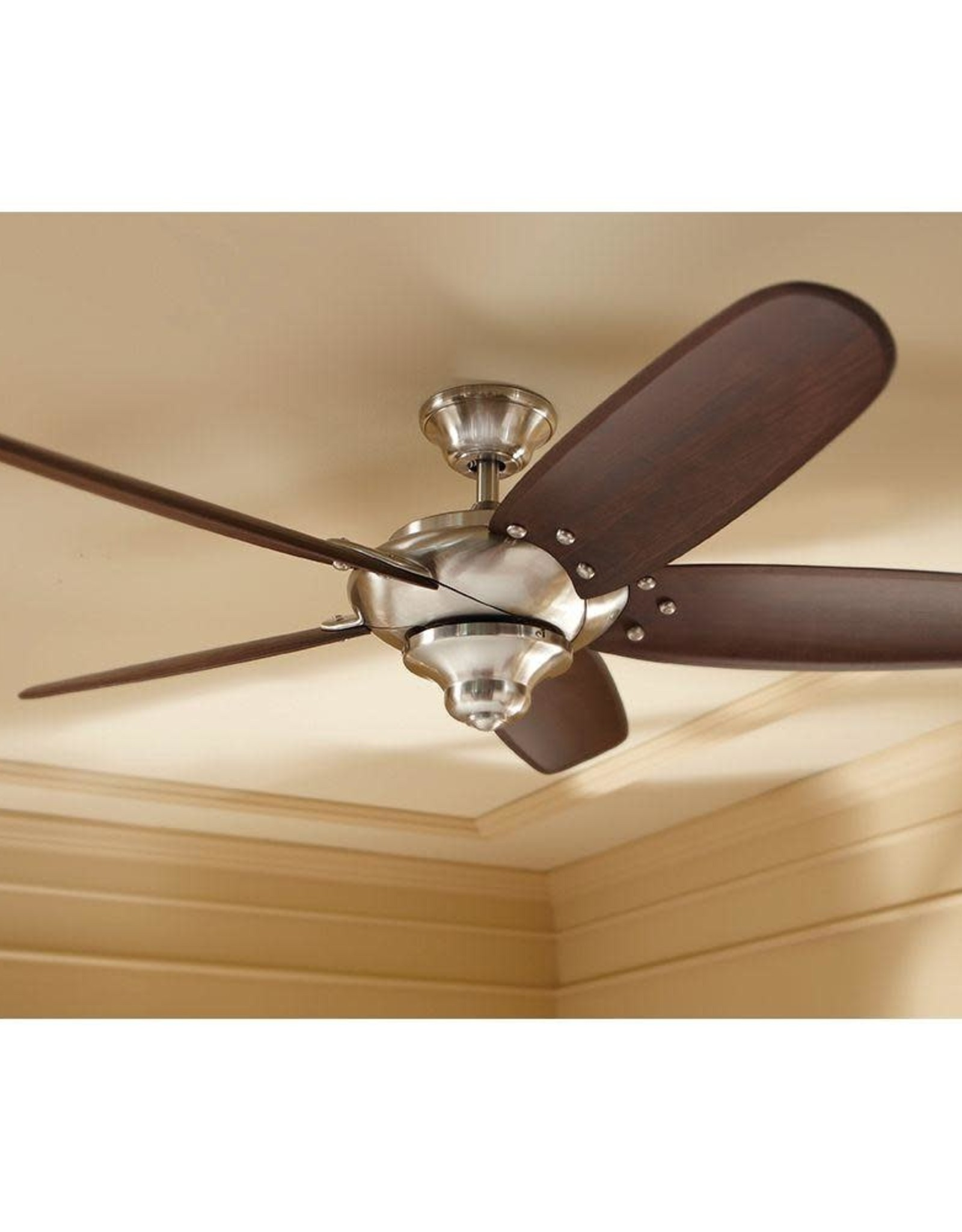 Altura 56 in. Indoor Brushed Nickel Ceiling Fan with Remote Control