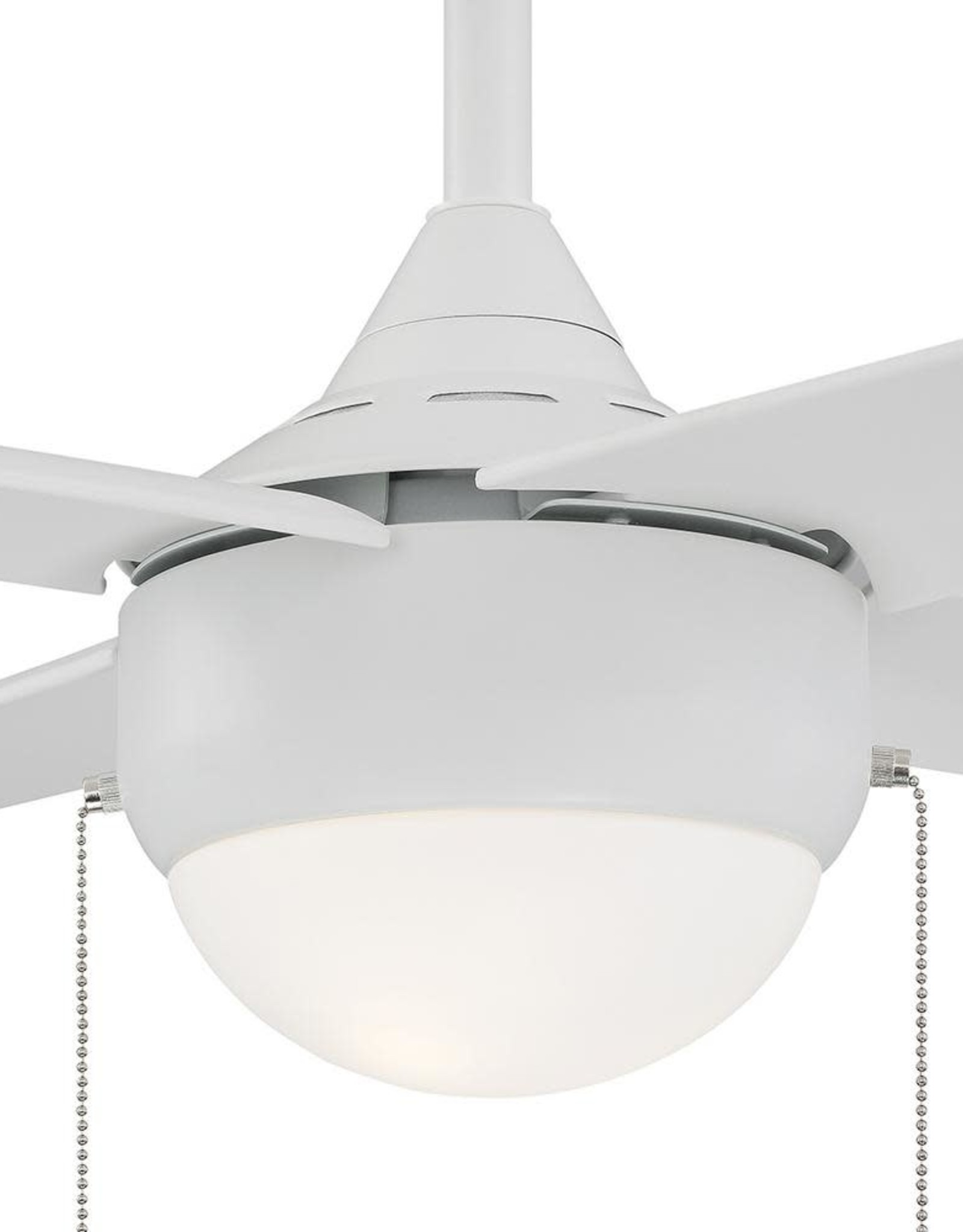 Spindleton 36 in. Indoor Matte White Ceiling Fan with Light Kit
