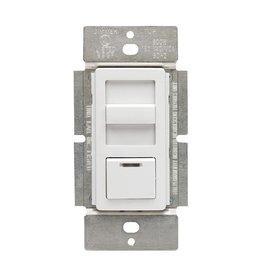 Leviton 1.5-Amp Decora Illumatech Single Pole Step Fan Speed Control With Preset Button, White/ Ivory/ Light Almond
