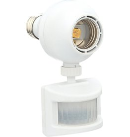 Westek Outdoor Motion-Sensing Light Control, White