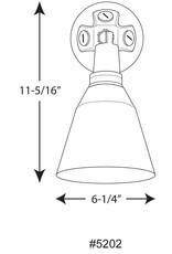 Progress Lighting Wall Mount 1-Light 11.3 in. Outdoor Black Wall Lantern