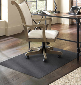 "E S ROBBINS CORP ES Robbins Designer Chair Mat 35"" x 47"" with Charcoal Pattern"