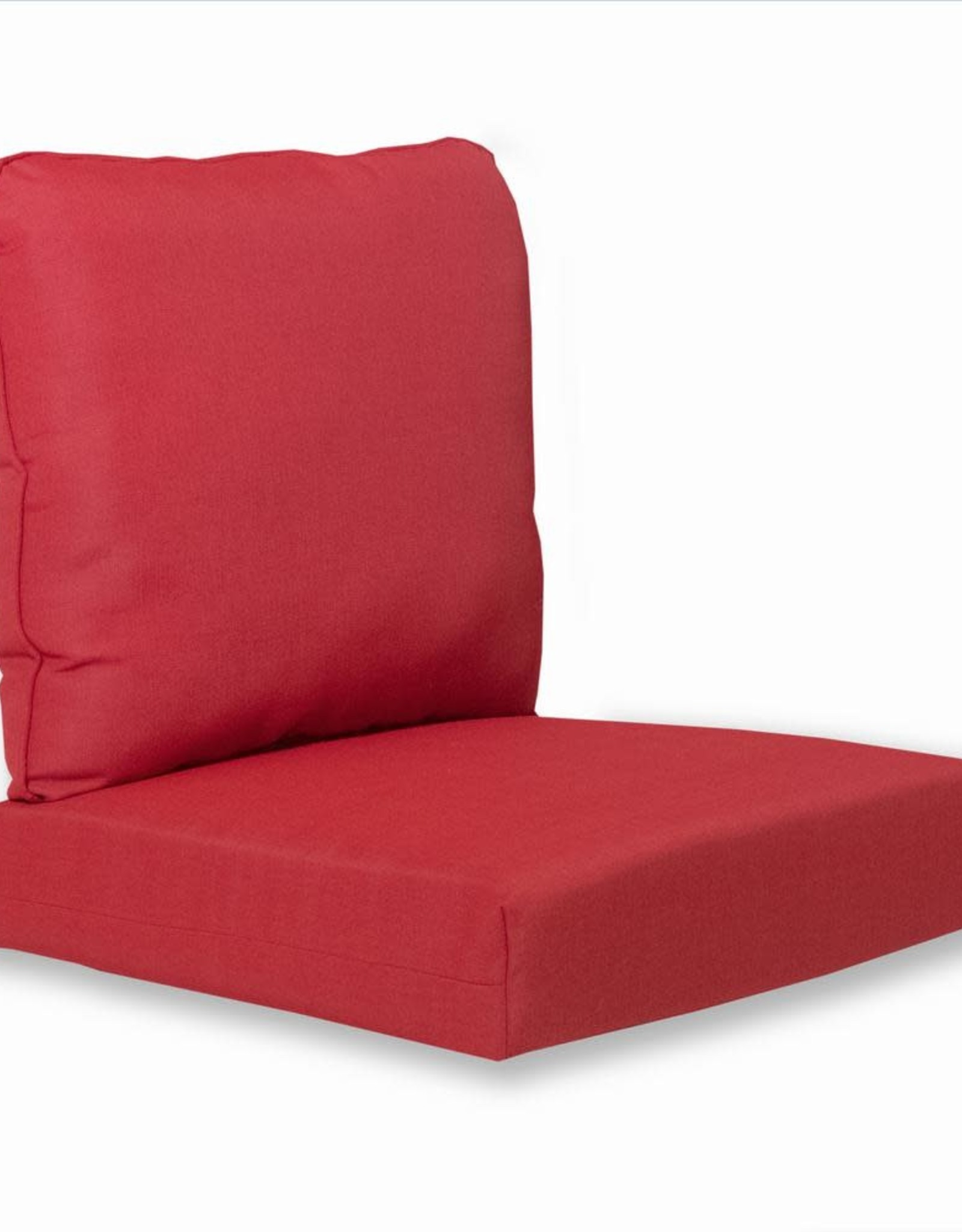 Hampton Bay Deep Seating Outdoor Patio Cushion in Chili