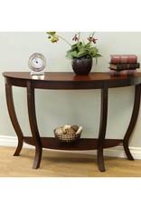 Homecraft Furniture Lewis Dark Walnut Wood Sofa Table