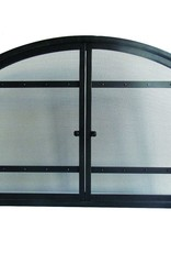 Pleasant Hearth Harper 1-Panel Fireplace Screen with Doors
