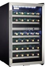 Danby 20 in. 38-Bottle Wine Cooler with 2-Temperature Zones