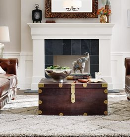 Langston Dark Caffe Built-In Storage Coffee Table