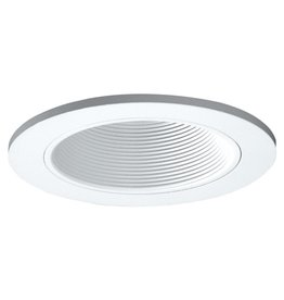 Halo 3 in. White Recessed Ceiling Light Adjustable Baffle Trim