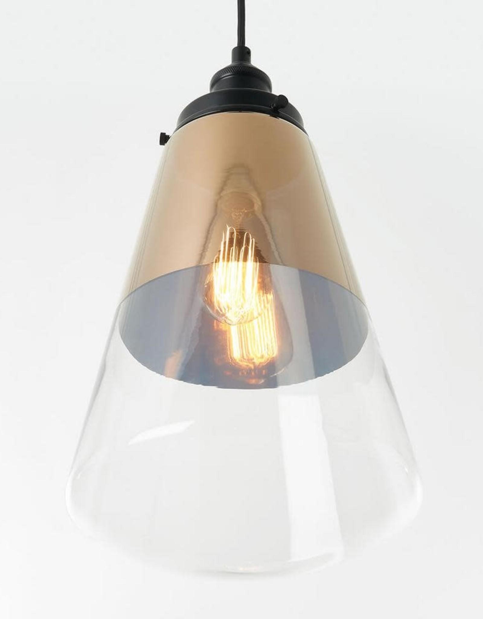Karma 1-Light Gold Pendant