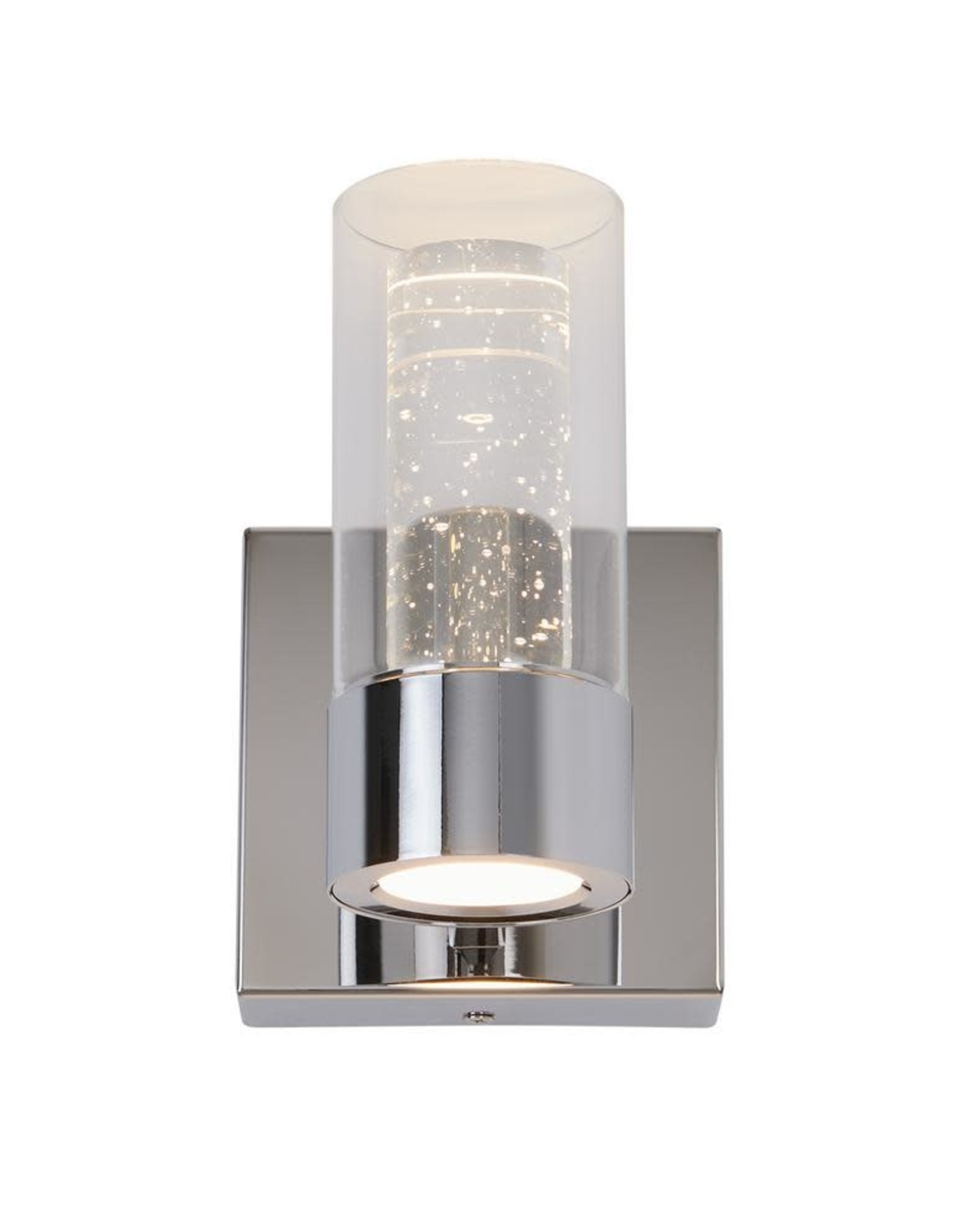 ARTIKA FOR LIVING INC Essence 4.3 in. Chrome LED Sconce with Bubble Glass