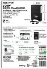 Hampton Bay Low-Voltage 300-Watt Landscape Transformer