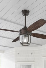 Home Decorators Collection Northampton 52 in. LED Indoor/Outdoor Espresso Bronze Ceiling Fan with Light