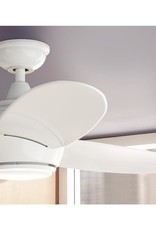 Home Decorators Collection Hedley 54 in. Integrated LED Indoor White Ceiling Fan with Light Kit and Remote Control