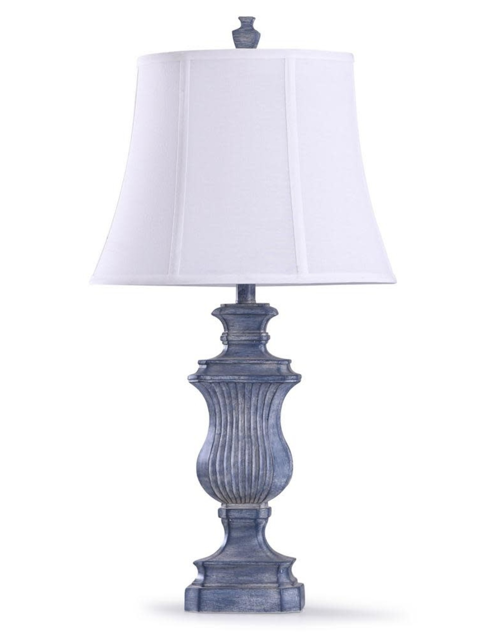 STYLECRAFT HOME CLLCTIONS Tao's 30.5 in. Denim Blue Table Lamp
