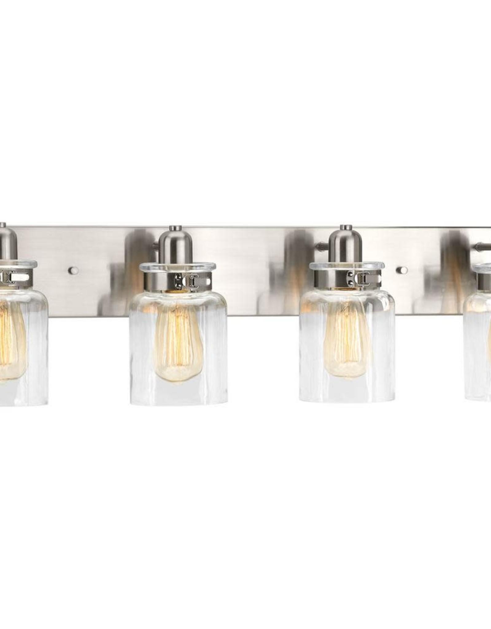 Progress Lighting Calhoun Collection Four-Light Bath & Vanity