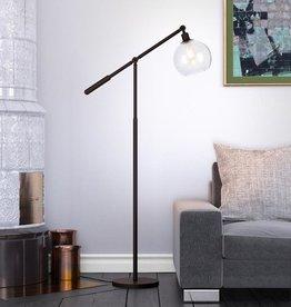 Meyer&Cross Dardan 60.63 in. Blackened Bronze Floor Lamp