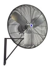 24 in. Black Oscillating Wall Mounted Fan