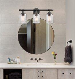 Globe Electric Camden 5-Piece All-In-One Bronze Bathroom Vanity Light Set