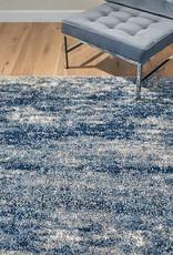GA GERTMENIAN AND SONS 9X13 Lenox Super Lush Shag Area Rug, Isola Blue Gray