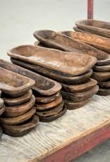 Stash Style Hand Carved Bagette Bowl - Natural