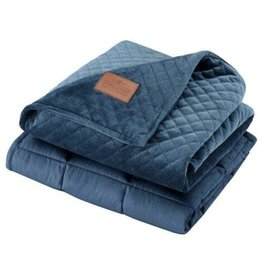 BHF INTERNATIONAL LTD Pendleton 7 lb. Weighted Lap Blanket Blue
