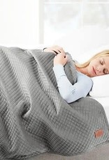 BHF INTERNATIONAL LTD Pendleton Weighted Blanket 15 lb Gray