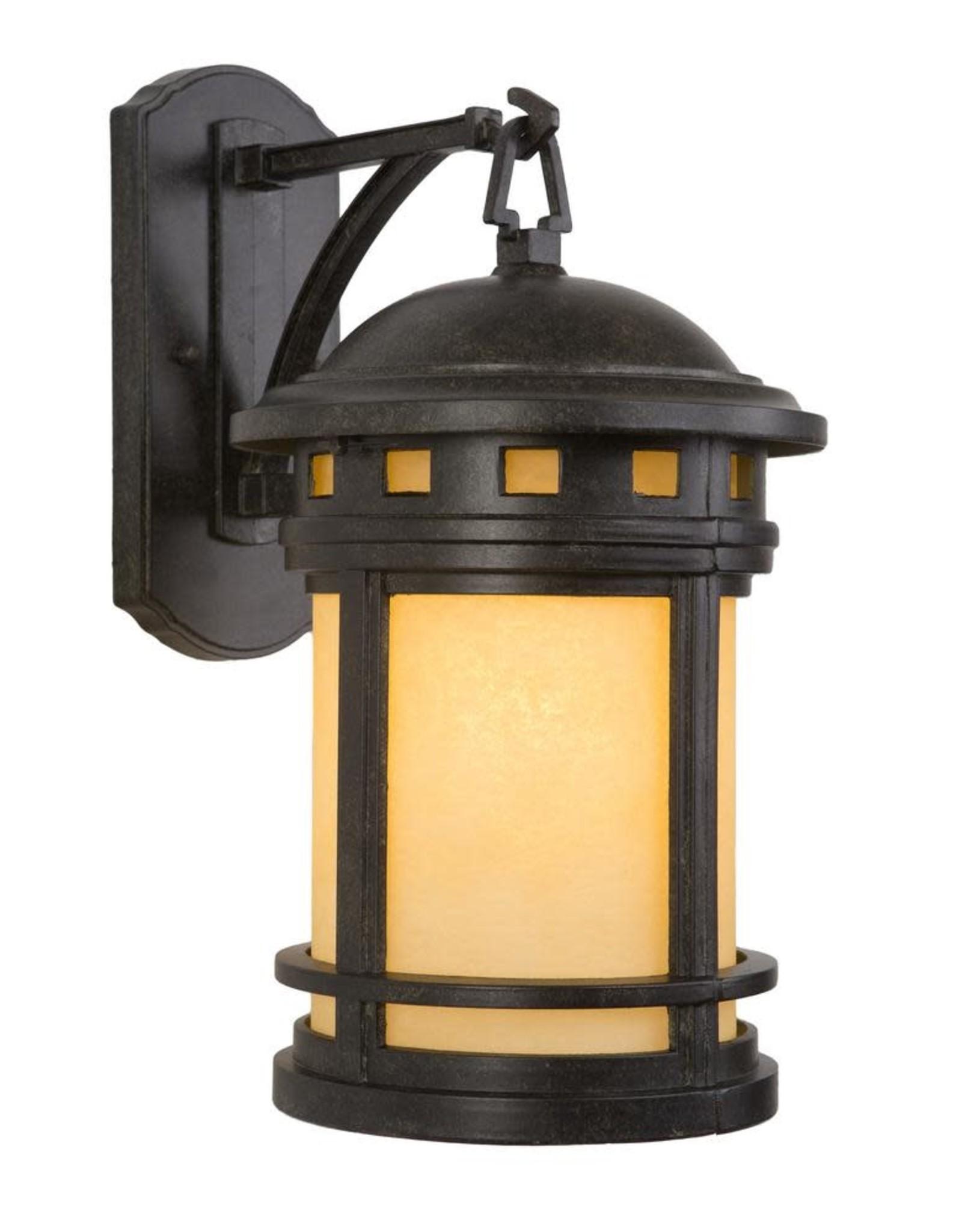 Yosemite Home Decor Sahara Collection 1-Light Desert Night Outdoor Wall Lantern Sconce