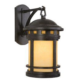 Yosemite Home Decor Sahara Collection 1-Light Desert Night Outdoor Wall Lantern Sconce