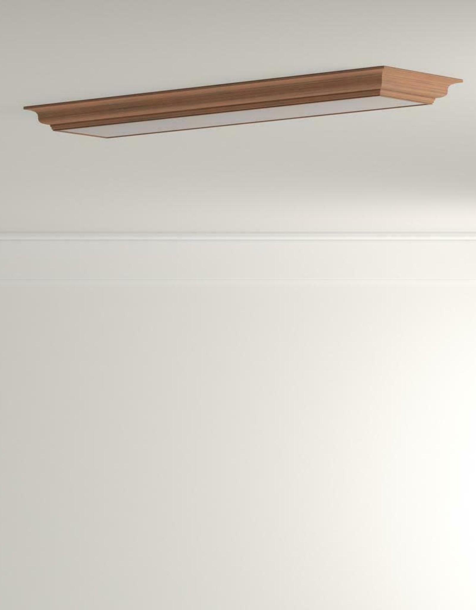 Lithonia Lighting Cambridge 4 ft. Oak LED Flush Mount