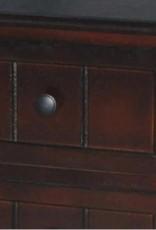 Antique Walnut 3-Drawer Chest