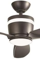 Home Decorators Collection Federigo 48 in. LED Matte Black Ceiling Fan