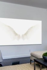 "Marmont Hill ""White Wings"" by Marmont Hill Printed Canvas Wall Art"
