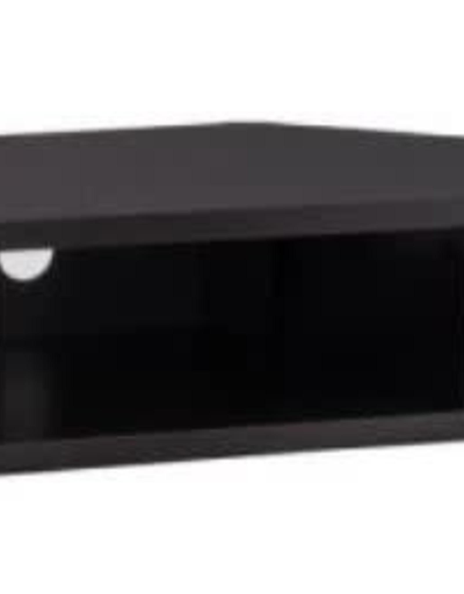 Furniture of America Emmeline 47 in. Cappuccino Particle Board Corner TV Stand