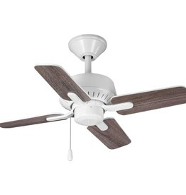 Progress Lighting Drift 32 in. 4-Blade White Ceiling Fan
