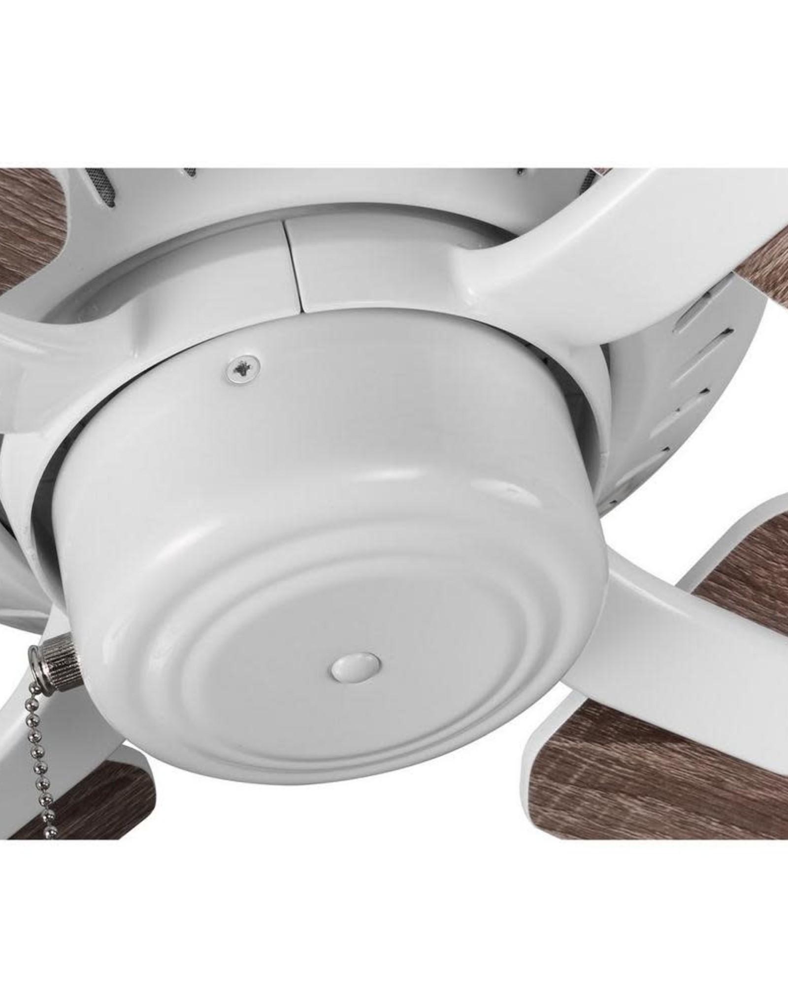 Progress Lighting Drift 32 in. 4-Blade White Ceiling Fan