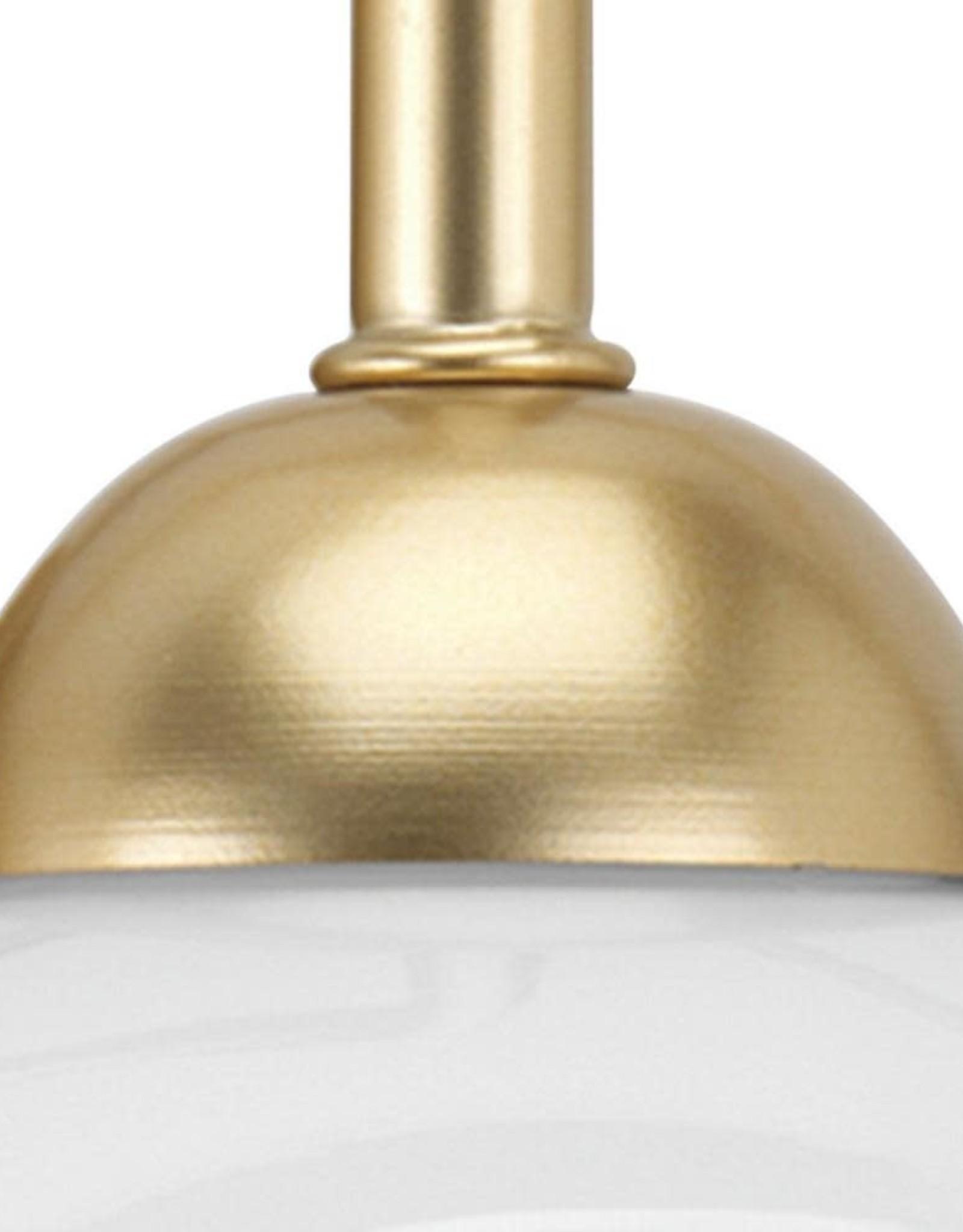 Progress Lighting Carisa Collection 4-Light Vintage Gold Bath Light