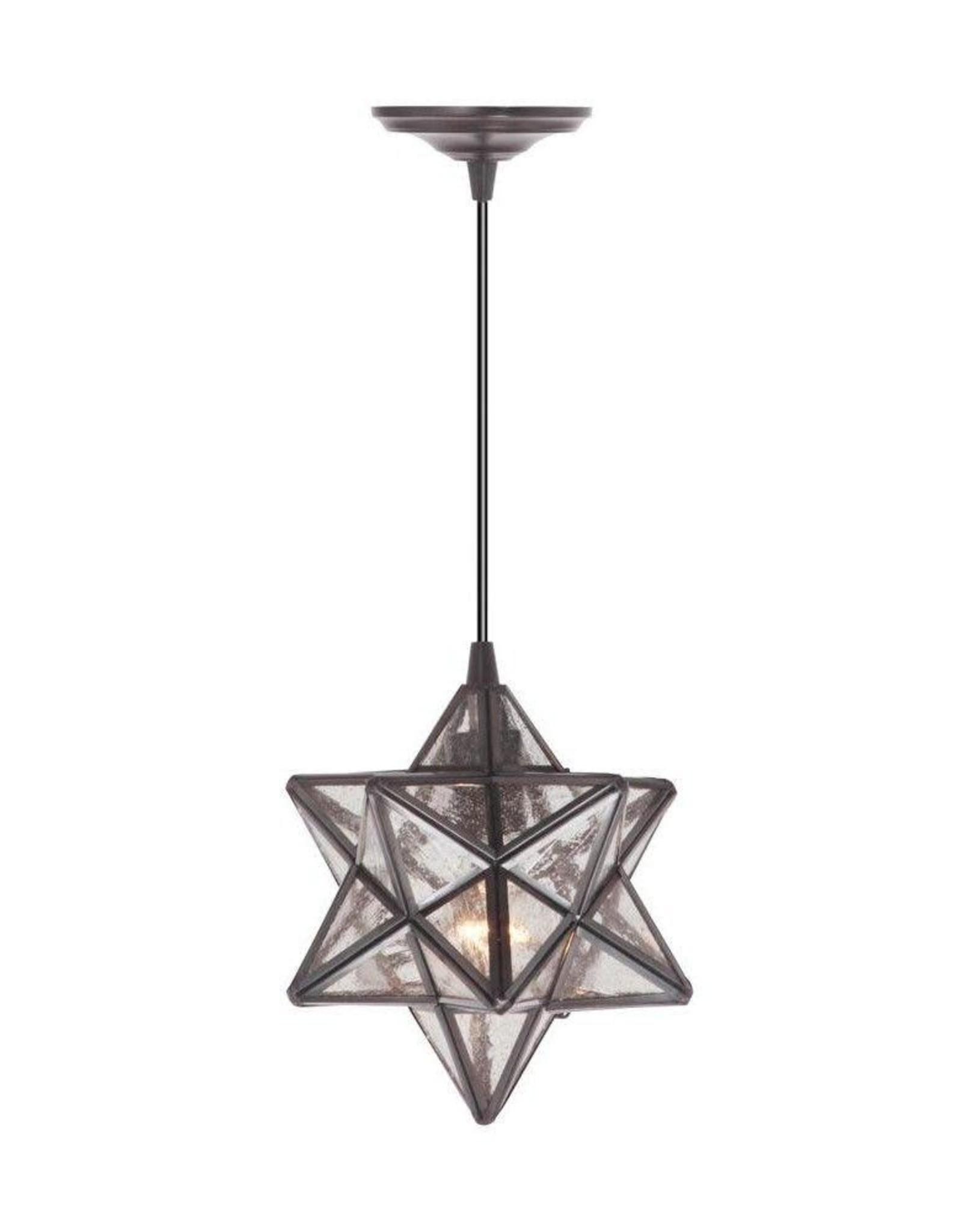 Home Decorators Collection Moravian 1-Light Bronze Pendant