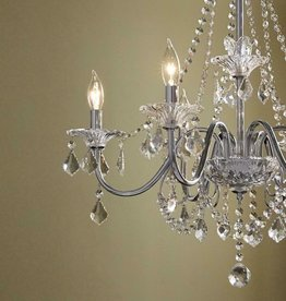 Home Decorators Collection Canterbury Park 6-Light Chrome Crystal Chandelier by Home Decorators Collection