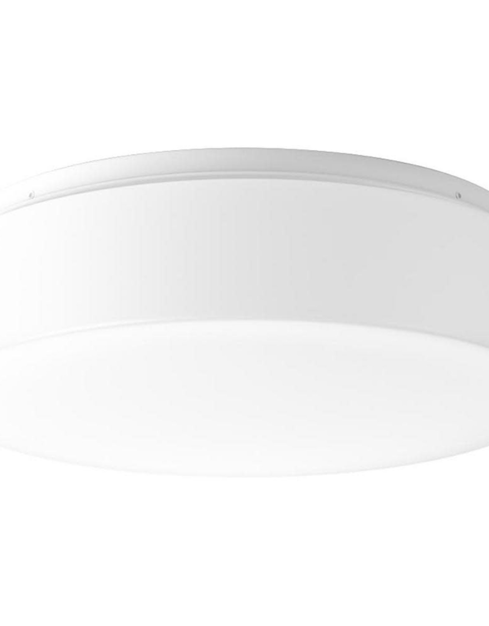 Progress Lighting Drums and Clouds Collection 22.5-Watt White Integrated LED Flush Mount