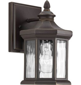 Progress Lighting Edition Collection 1-Light Antique Bronze 9.1 in. Outdoor Wall Lantern Sconce