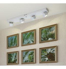 Light It! 14.5 in. White Wireless RC Integrated LED Track Lighting Kit