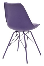OSP Home Furnishings Emerson Purple Student Side Chair