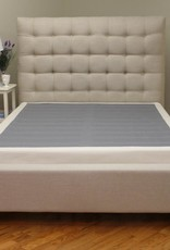 Instant Foundation Quick Assembly Wood Foundation with Cover 4 in. Full Low Profile Mattress Foundation Replacement Box Spring