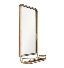 3R Studios Medium Rectangle Brass Classic Mirror (27.5 in. H x 19.5 in. W)