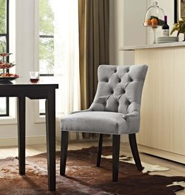 Modway Regent Light Gray Fabric Dining Chair