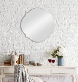 Pinnacle Medium Oval Beveled Glass Mirror (20.5 in. H x 20.5 in. W)